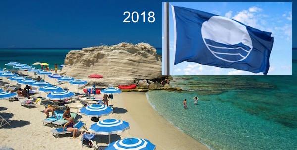 """Самые чистые пляжи Италии: """"Голубые флаги"""" 2018года"""