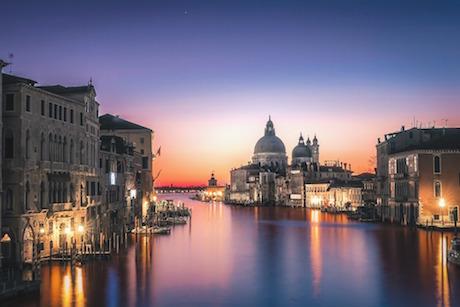 Venezia ora blu pixabay