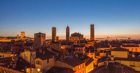 12 tramonto Bologna