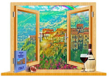 finestra Italia pixabay