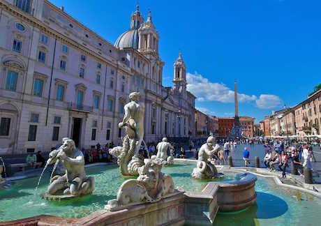Рим в блескебарокко