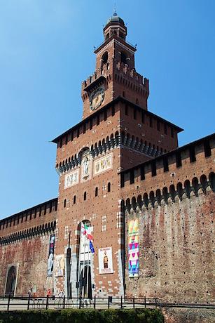 Castello Sforzesco 1 Milano pixabay