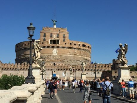 Roma Castel Sant' Angelo 4