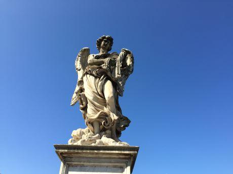 Roma Castel Sant' Angelo ponte 1.JPG