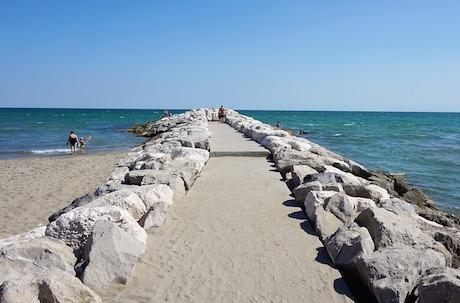 spiaggia caminata