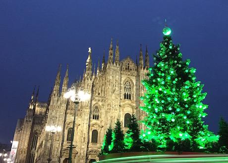 Рождество 2020 в Милане, главная елкагорода
